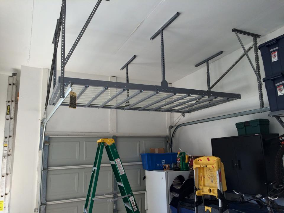 This Installation Is Typically The Best Configuration In A Two Car Garage Because Units Fit Perfectly Within Width Of